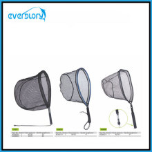 Convenient Carry Fly Fishing Net Fishing Tackle with Different Shape Head Shape
