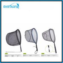 Convenient Carry Fliegenfischen Netz Angelgerät mit verschiedenen Form Kopfform