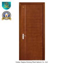 Porte en bois composite solide de style moderne pour la pièce (ds-080)