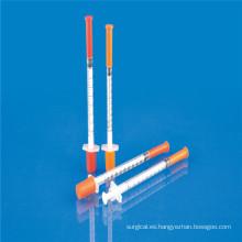 Jeringa de insulina desechable de 0.5 ml con aguja (CE e ISO)