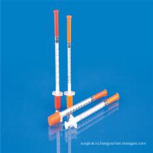 Медицинский шприц для инсулина 0,5 мл