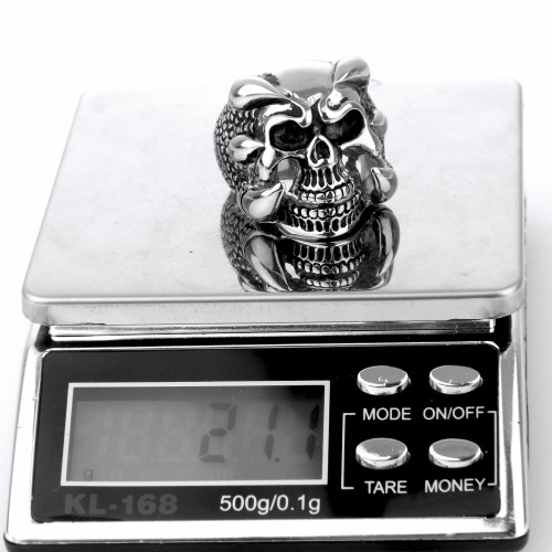 polishing skull ring