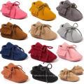 Infant Kleinkind Schuhe Baby Unisex Prewalker Soft Sole Mokassins
