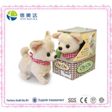 Best Handmade Walking and Barking Chihuahua Dog Plush Electronic Toy