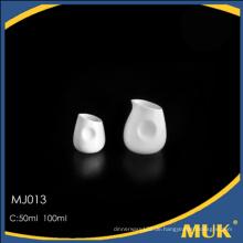 Neues Produkt aus Guangzhou Porzellan Geschirr feines Porzellan Keramik Milch Topf