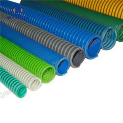 PVC suction hose on vacuum dump trucks