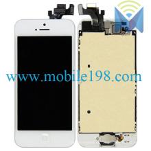 Teléfono móvil LCD para iPhone 5 con pantalla táctil con marco
