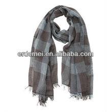 Мужская сетка 100% хлопок вуаль шарф