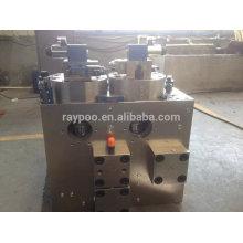Válvula de sistema de controle hidráulico para colector para máquina de forjamento