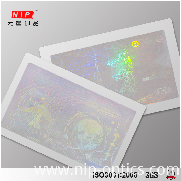 3D hologram Cards