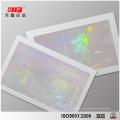 3D holograma personalizado cartões de visita com logotipo do holograma