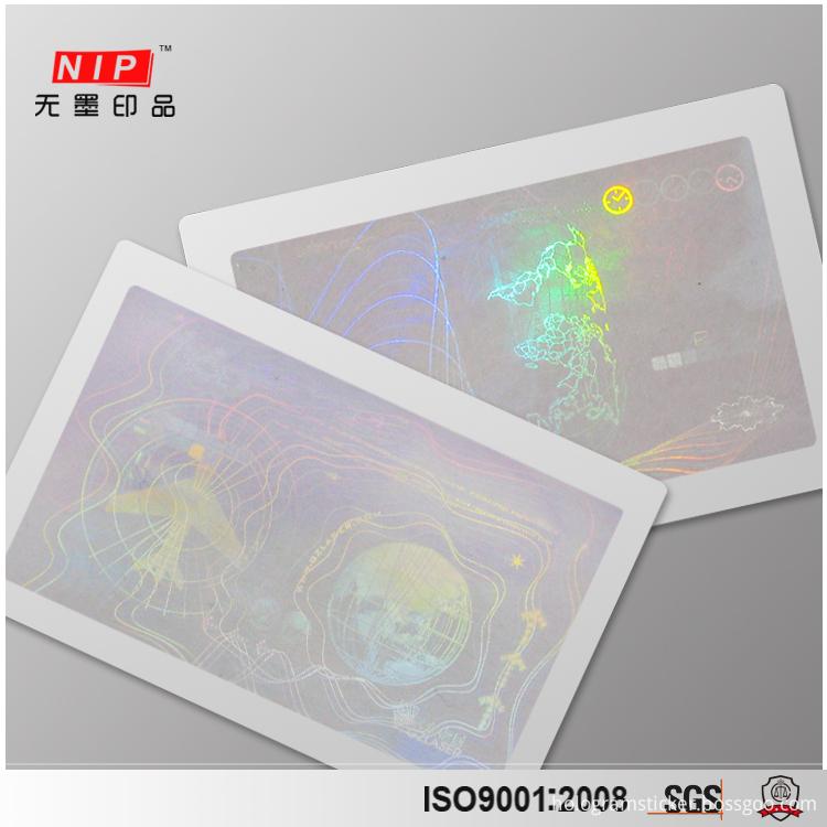 3D hologram Cards