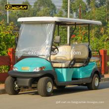 Custom 6 Seats carrito de golf eléctrico 48V Trojan batería Coche de golf eléctrico con errores