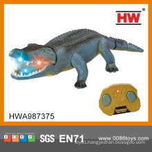 New Design Hot Sale 48CM 2CH Infrared Remote Control Crocodile With Light And Sound
