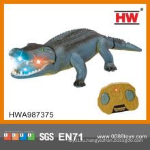 Новый дизайн Hot Sale 48CM 2CH Инфракрасный пульт дистанционного управления крокодил со светом и звуком
