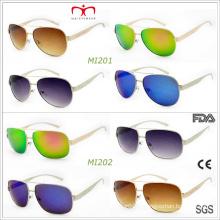 Lunettes de soleil en métal de conception de mode les plus récentes de 2015 (MI201 et MI202)