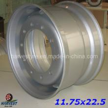 Roues en acier 11.75X22.5 pour pneus de camion