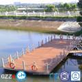 Pontoon for floating dock high bouyancy ski boat lift for hot sale