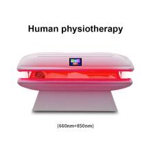 Cama antienvejecimiento de terapia de luz led roja / cuerpo de sauna de infrarrojos que adelgaza la cama con dosel de fototerapia