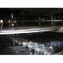 2017 série PLG secador de chapas contínuas, fabricantes de forno transportador SS, transportador espiral vertical