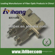 SC female FC male Duplex fiber adapter