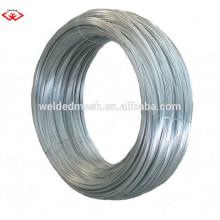Tratamiento de superficie galvanizado y función de alambre de encuadernación BWG 22 electrodo de hierro galvanizado galvanizado 8kg