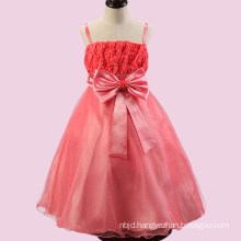 2017 Guangzhou Flower Girl Child Clothing Short Puffy Party Net Dresses