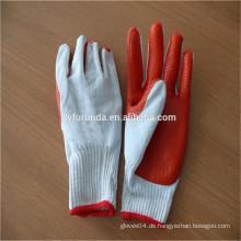 FURUNDA China Großhandel Lieferanten Gummi beschichtet Sicherheit Arbeit Handschuhe mit kostenlosen Probe