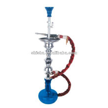Big portable hookah zinc alloy material handmade glass bottle