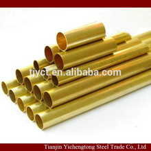 Brass pipe for heat exchanger H62 H63 CuZn37