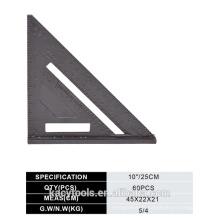 Ensemble en alliage d'aluminium Règle carrée / triangulaire / Vitesse carrée
