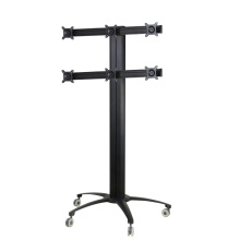 "Public TV Floor Stand 6-Monitor 10-24"" (AVD 006A)"