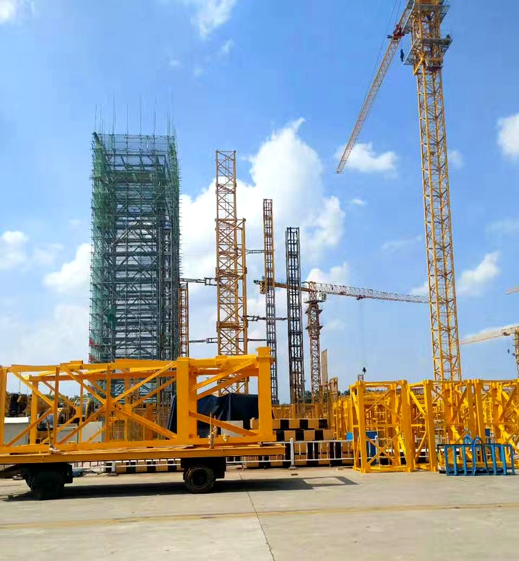 Design Topless Tower Crane