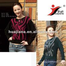 Suéter grueso de cachemira de las mujeres del modelo de la moda