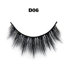 Good feedback wholesale strip lashes 3D faux mink eyelashes with Private label
