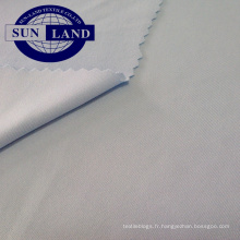 REPREVE 92% polyester recyclé 8% spandex simple jersey pour sportswear
