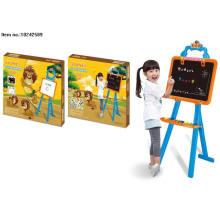 Brinquedos de tabuleiro de aprendizagem de dupla face para crianças