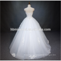 2016 top selling white color floor length bal gown sexy wedding dress costume