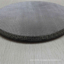Acero inoxidable que teje la malla de alambre sinterizada para el filtro