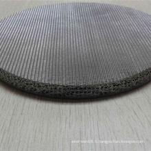 Maille en acier frittée de tissage d'acier inoxydable pour le filtre