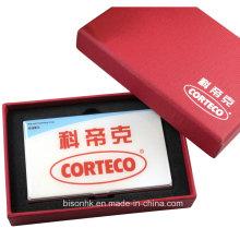 Porte-cartes de visite personnalisé en époxy (BS-E-005)