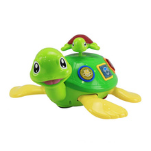 Plastic B/O Turtle Battery Operated Cartoon Toy (H7683082)