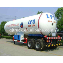60cbm lpg transport trailer / lpg transport tank semi trailer / lpg transport truck tanks