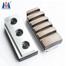 Huazuan granite polishing tools segmented metal bond grinding block abrasive diamond fickert