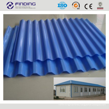 high quality galvanized color coated aluminium steel roof tile panel cladding