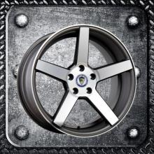 Five Spoke Staggered Alloy Wheel