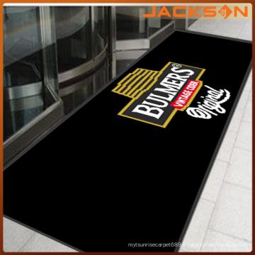 Tapis de porte de logo personnalisé