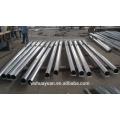 Outdoor octagonal galvanized steel folding street lighting pole