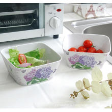(BC-MB1037) High Quality Reusable Imitation Porcelain Melamine Bowl