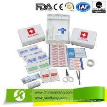 Nouvelle boîte d'instruments en plastique de premiers soins